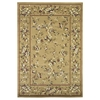 "Cambridge 7338 Beige Floral Delight 5'3"" x 7'7"" Size Area Rug"