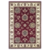 "KAS Rugs Cambridge 7340 Red /Ivory Floral Mahal 9'10"" X 13'2"" Size Area Rug"