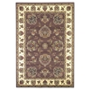 "Cambridge 7341 Plum/Ivory Floral Mahal 2'2"" x 7'11"" Runner Size Area Rug"