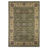 "KAS Rugs Cambridge 7343 Sage/Beige Bijar 2'2"" x 7'11"" Runner Size Area Rug"