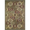 "Cambridge 7345 Multi Mosaic Panel 3'3"" x 4'11"" Size Area Rug"