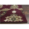 "Cambridge 7364 Red Palazzo 3'3"" x 4'11"" Size Area Rug"