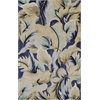 Catalina 0756 Blue Calla Lillies 5' x 8' Size Area Rug