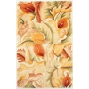 Catalina 0758 Ivory Calla Lilies 5' x 8' Size Area Rug