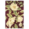 "Catalina 0760 Red Magnolia 2'6"" x 8' Runner Size Area Rug"