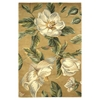 "Catalina 0762 Gold Magnolia 2'6"" x 8' Runner Size Area Rug"