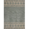 Chelsea 2379 Light Blue Border 5' x 7' Size Area Rug