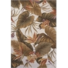 "Colonial 1737 Ivory Tropical Paradise 3'6"" x 5'6"" Size Area Rug"