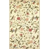 "Colonial 1783 Ivory Springtime Views 3'6"" x 5'6"" Size Area Rug"