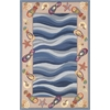 "Colonial 1810 Fun In The Sun 3'6"" x 5'6"" Size Area Rug"