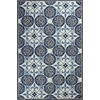 "Colonial 1822 Ivory/Blue Serendipity 20"" x 30"" Size Area Rug"