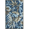 "Coral 4150 Ocean Tropica 2'3"" x 7'6"" Runner Size Area Rug"
