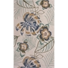 "Coral 4160 Ivory Maui 2'3"" x 7'6"" Runner Size Area Rug"