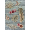 "Coral 4166 Seafoam Visions 5' x 7'6"" Size Area Rug"