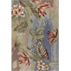 "Coral 4168 Blue/Sage Breeze 2'3"" x 7'6"" Runner Size Area Rug"