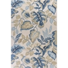 "Coral 4169 Ivory Exotics 5' x 7'6"" Size Area Rug"