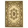 "KAS Rugs Corinthian 5311 Ivory Aubusson 3'3"" x 4'11"" Size Area Rug"