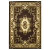 "Corinthian 5313 Plum/Ivory Aubusson 2'2"" x 7'11"" Runner Size Area Rug"