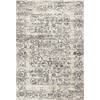 "KAS Rugs Crete 6511 Ivory/Grey Courtyard 2'2"" x 6'11"" Runner Size Area Rug"