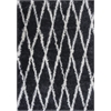 "KAS Rugs Delano 1152 Charcoal Visions 7'10"" x 10'6"" Size Area Rug"