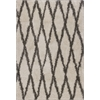 "Delano 1165 Ivory Grey Visions 7'10"" x 10'6"" Size Area Rug"