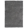 """Delano 1168 Grey Solid 3'3"""" x 5'3"""" Size Area Rug"""