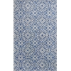 KAS Rugs Donny Osmond Home Harmony 8105 Azure Blue Heritage 5' x 8' Size Area Rug