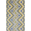 "Donny Osmond Home Harmony 8107 Gold/Lilac Accents 8' x 10'6"" Size Area Rug"