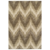 "Donny Osmond Home Timeless 8006 Champagne Chevron 2'2"" x 7'11"" Runner Size Area Rug"