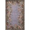 "KAS Rugs Emerald 9006 Lavender Garden 5'3"" x 8'3"" Size Area Rug"