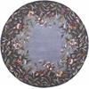 """Emerald 9006 Lavender Garden 7'6"""" Round Size Area Rug"""