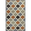 "Eternity 1068 Ivory/Spice Arabesque 8' x 10'6"" Size Area Rug"