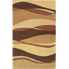 "Eternity 1074 Earthtone Landscapes 27"" X 45"" Size Area Rug"