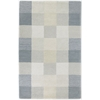 "Eternity 1081 Seaside Checkerboard 3'3"" x 5'3"" Size Area Rug"