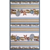 "Fairfax 5506 Seashells 5' x 7'6"" Size Area Rug"