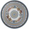 """Fairfax 5506 Seashells 7'6"""" Round Size Area Rug"""