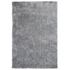 "KAS Rugs Fina 0552 Silver Silky Shag 27"" X 45"" Size Area Rug"