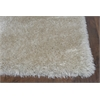 "KAS Rugs Fina 0551 Champagne Silky Shag 3'3"" x 5'3"" Size Area Rug"