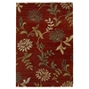 Florence 4562 Red Floral 5' x 8' Size Area Rug