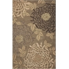 Florence 4574 Sage Mums 8' X 10' Size Area Rug