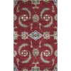 Florence 4587 Ruby Allover Mahal 8' X 10' Size Area Rug