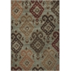 "Geneva 9411 Blue Allover Ikat 3'3"" x 4'11"" Size Area Rug"