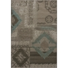 "Geneva 9428 Beige Diamonds 5'3"" x 7'8"" Size Area Rug"