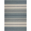 Gramercy 1604 Ivory/Blue Visions 5' x 7' Size Area Rug