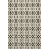 "Harbor 4201 Charcoal Scrollwork 7'6"" x 9'6"" Size Area Rug"