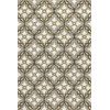 "Harbor 4209 Grey/Gold Mosaic 3'3"" x 5'3"" Size Area Rug"