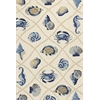 "Harbor 4217 Sand Seaside 3'3"" x 5'3"" Size Area Rug"