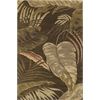 "KAS Rugs Havana 2615 Mocha Rainforest 3'3"" x 5'3"" Size Area Rug"