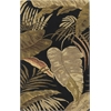 "Havana 2616 Midnight Rainforest 30"" X 50"" Size Area Rug"