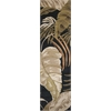 "Havana 2616 Midnight Rainforest 2'3"" x 8' Runner Size Area Rug"